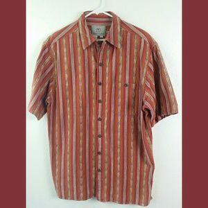 Men's Territory Ahead Short Sleeve Shirt Sz L/T